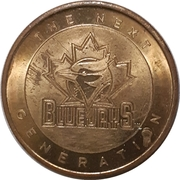 Token - Toronto Blue Jays (Pat Hentgen) – obverse