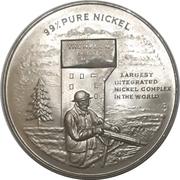 Medal - Thompson Nickel Mine (Sir John A. Macdonald) – obverse