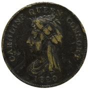 Medallion - Caroline Queen Consort – obverse