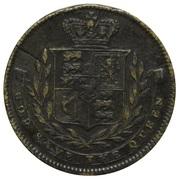 Medallion - Caroline Queen Consort – reverse
