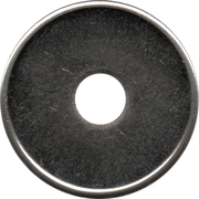 Blank Token (With a hole; Copper-nickel; 24 mm) – obverse