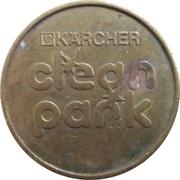 Car Wash Token - Kärcher Clean Park (Schloz Markt) – reverse