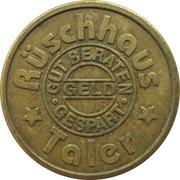 Rüschhaus Taler - Rüschhaus Apotheke (Münster) – reverse