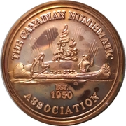 Medal - Canadian Numismatic Association 1981 – obverse