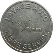 Car Wash Token - Jacky Lavage (Forbach) – reverse