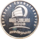 Token - European Waterpolo Championship in Slovenia – obverse