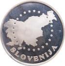 Token - European Waterpolo Championship in Slovenia – reverse
