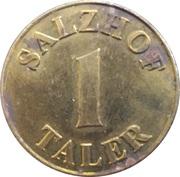 1 Salzhof Taler - Salzhof Apotheke (Bad Salzuflen) – reverse