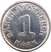 1 Mark - Bären Apotheke – reverse
