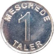 1 Meschede Taler - Gartenstadt Apotheke (Meschede) – reverse