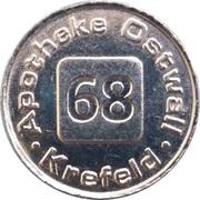 1 Taler - Apotheke Ostwall (Krefeld) – obverse