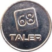 1 Taler - Apotheke Ostwall (Krefeld) – reverse