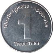 1 Treue-Taler - Oberbergische Apotheke (Hückeswagen) – reverse