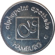 1 Alphapoint - Alphapoint Apotheke (Hamburg) – obverse