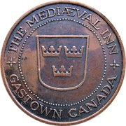 Medal - The Mediaeval Inn (Vancouver, British Columbia) – obverse