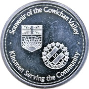 Medallion - Cowichan (Duncan, British Columbia) – reverse