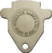 1 3 Quart Jug - McKenzie Dairies (Port Elgin, Ontario) – obverse