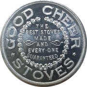 Token - Good Cheer Stoves (Woodstock, Ontario) – obverse