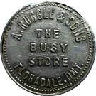 25 Cents - A. Ruggle & Sons (Floradale, Ontario) – obverse
