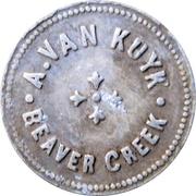 1 Pint Milk - A. Van Kuyk (Beaver Creek, British Columbia) – obverse