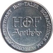 Hof-Taler - Hof Apotheke (Stuttgart) – obverse