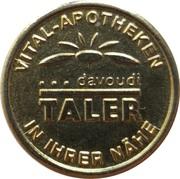 Davoudi Taler - Vital Apotheke (Enger Herford Löhne) – obverse