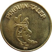 Pinguin-Taler / Engel-Taler - Pinguin Apotheke (Amsberg) – obverse