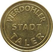 Werdohler Taler - Stadt Apotheke (Werdohl) – reverse