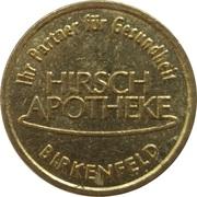 Bonus Taler - Hirsch Apotheke (Birkenfeld) – obverse