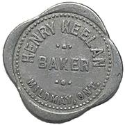 1 Loaf of Bread - Henry Keelan (Mildmay, Ontario) – obverse