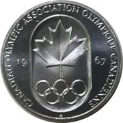 Token - Canadian Olympic Association – obverse