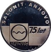 Token - Salonit Anhovo 75 years (Anhovo) – obverse