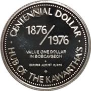 Centennial Dollar - Bobcaygeon, Ontario – obverse