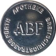 1 Bonus Münze - ABF Apotheke (Fürth) – obverse