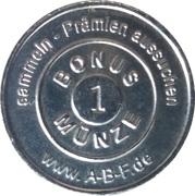 1 Bonus Münze - ABF Apotheke (Fürth) – reverse