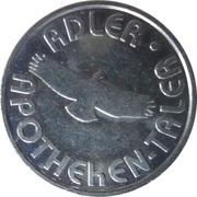 Adler Taler - Adler Apotheke – reverse