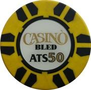 50 Schilling - Casino Bled (Bled) – reverse