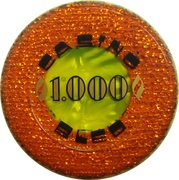 1000 - Casino Bled (Bled) – obverse