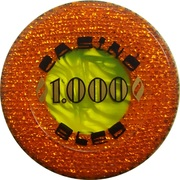 1000 - Casino Bled (Bled) – reverse
