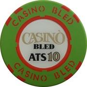 10 Schilling - Casino Bled (Bled) – obverse