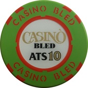 10 Schilling - Casino Bled (Bled) – reverse