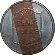 Token - Peace bridge (Buffalo, New York - Fort Erie, Ontario) – obverse
