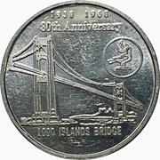 Token - Thousand Islands Bridge – obverse
