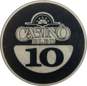 10 - Casino Bled (Bled) – obverse