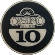10 - Casino Bled (Bled) – reverse