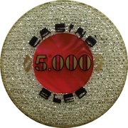 5000 - Casino Bled (Bled) – reverse