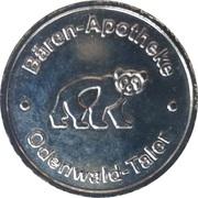 Odenwald-Taler - Bären & Elefanten Apotheke – obverse