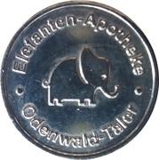 Odenwald-Taler - Bären & Elefanten Apotheke – reverse