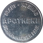 Mache Taler - Scharnhauser Park Apotheke (Ostfildern) – obverse