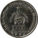 Token - Federation Francaise de Football - Continent Equipe de France (Vincent Candela) – reverse